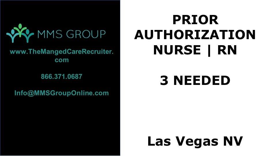 Prior Authorization Nurse – Las Vegas NV