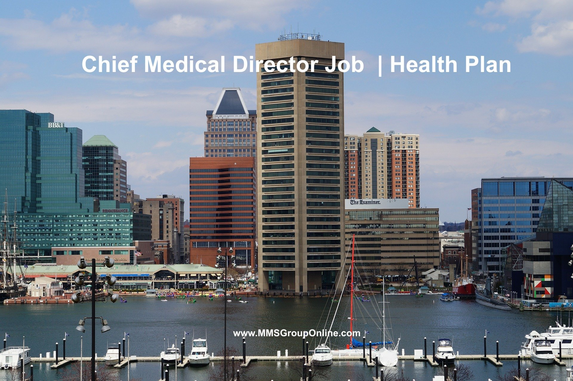 Chief Medical Officer Job In Baltimore MD