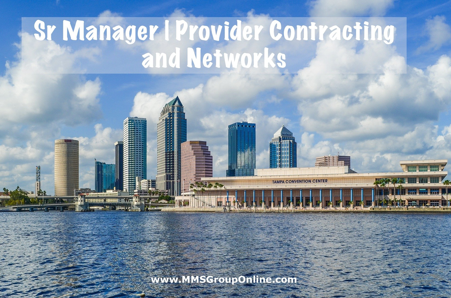 Sr Manager Provider Contracting and Networks in Florida